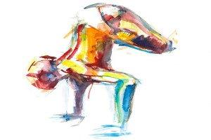 bakāsana yoga posture
